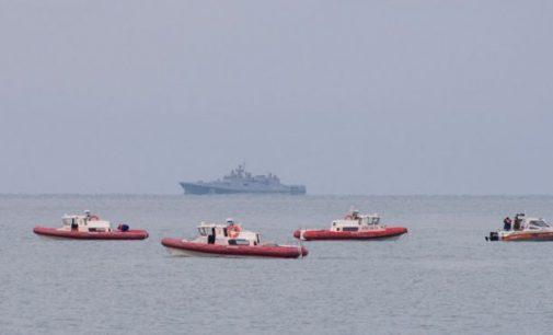 """Tu-154 katastrofos rajone iš jūros dugno iškelta antra """"juodoji dėžė"""""""