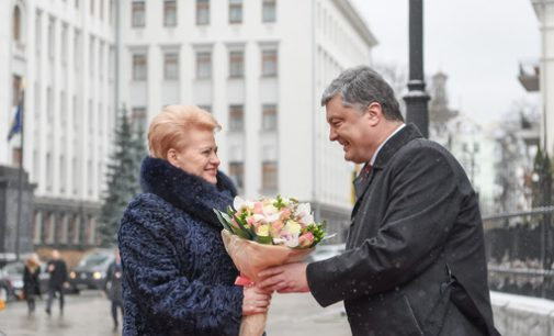 """Prezidentės spaudos tarnyba: """"Ukraina vaduojasi ne tik iš agresijos, bet ir iš korupcijos"""""""