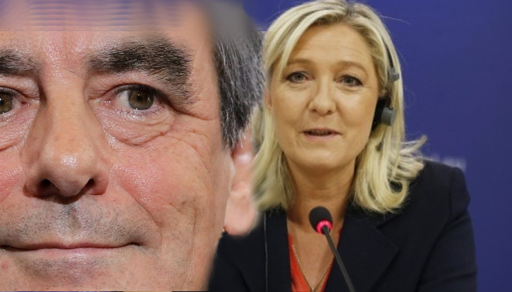 F. Fijonas ir M.Le Pen