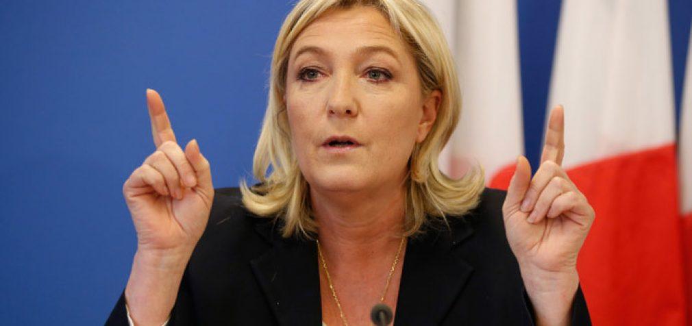"Marine Le Pen: ""Krymo aneksija nėra nelegali"""