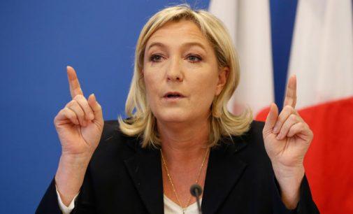 Nei ES, nei euro, nei nedarbo, nei vargšų: stebuklinga Marine Le Pen programa