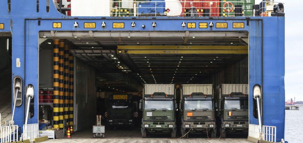 Į Lietuvą atvyksta NATO kariai iš Belgijos