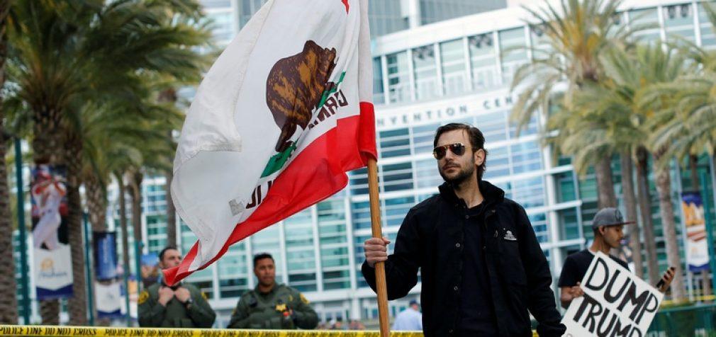 Kalifornijoje prasidėjo oficiali atsiskyrimo nuo JAV kampanija