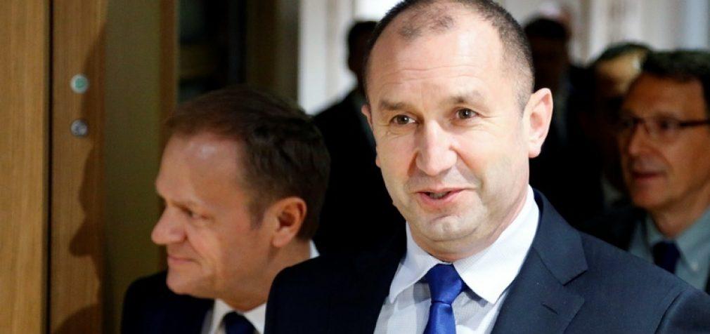 Bulgarijos prezidentas: ES gali tapti sankcijų karo įkaite