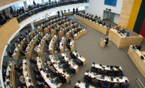 Seimas pritarė patobulintam Vaiko teisių apsaugos pagrindų įstatymo projektui