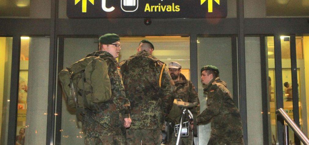 Pirmieji Bundesvero kariškiai atvyko į Lietuvą