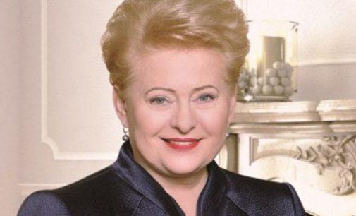 D. Grybauskaitė pasveikino išrinktąjį naująjį Ukrainos prezidentą – Vladimirą Zelenskį