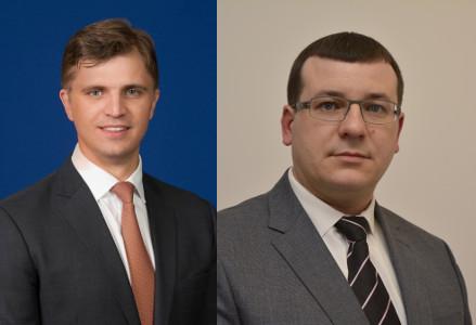 Giedrimas Jeglinskas (iš kairės) ir Edvinas Kerza