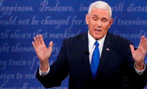 JAV vice-prezidentas: sankcijų Rusijai panaikinimo klausimas spręsis artimiausiais mėnesiais
