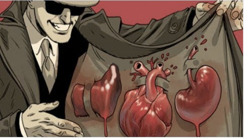 prekyba organais
