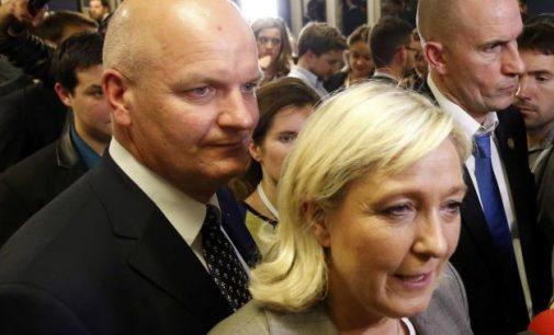 Areštuota Marine Le Pen artimiausia politinė aplinka