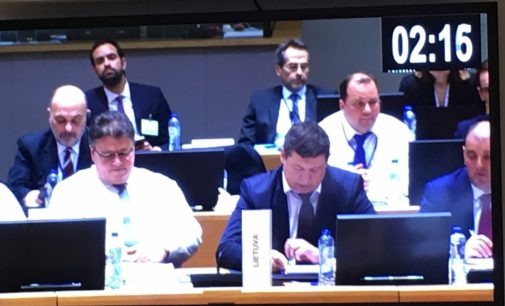 "KAM ministras: ""Lietuva remia Europos Sąjungos saugumo iniciatyvas"""