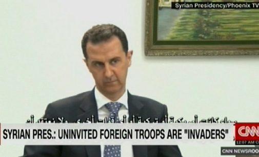 CNN: amerikiečių karius Sirijoje prezidentas Asadas pavadino okupantais