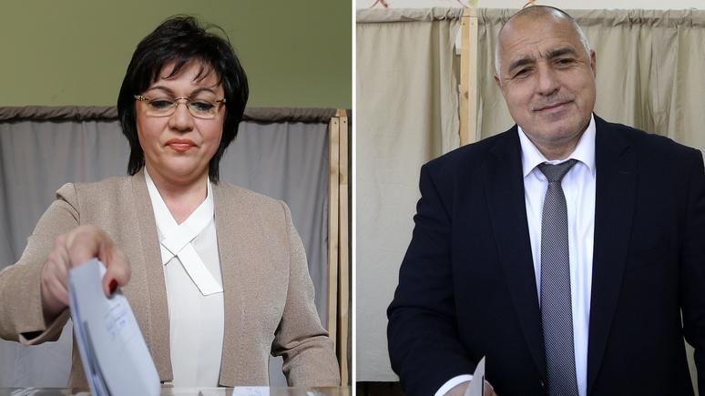 Kornelija Ninova ir Boiko Borisovas