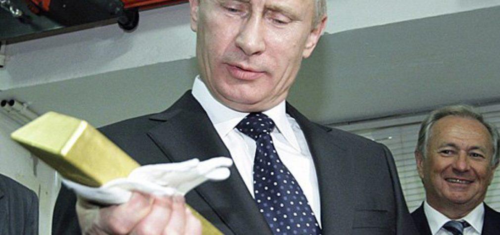 Kodėl Rusija superka auksą