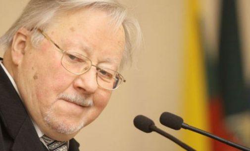 Vytautas Landsbergis kreipėsi į Rusijos žiniasklaidą, prašydamas informuoti prezidentą Putiną dėl galimų grėsmių Lietuvai