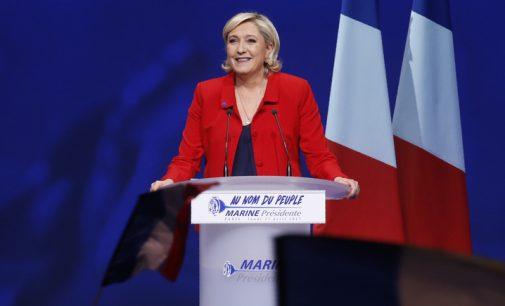 """Marine Le Pen: """"Šie prezidento rinkimai – tai civilizacijos išlikimo klausimas"""""""