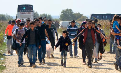Migrantai Europoje – iš kur ir kur keliauja