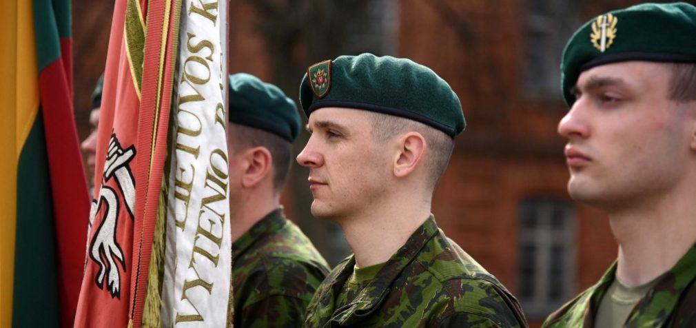 Atšventę Velykas į Lietuvos kariūnų gretas įsilies naujieji 2017 metų šauktiniai