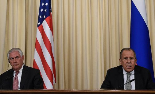 R. Tillersono susitikimas su V. Putinu įvyko – Rusija pasirengusi grįžti prie incidentų prevencijos Sirijoje memorandumo