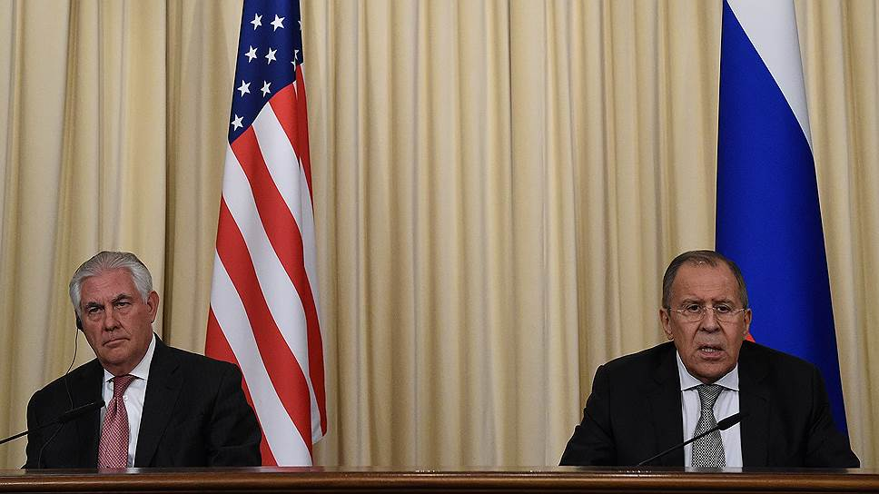 S. Lavrovas ir R. Tillersonas