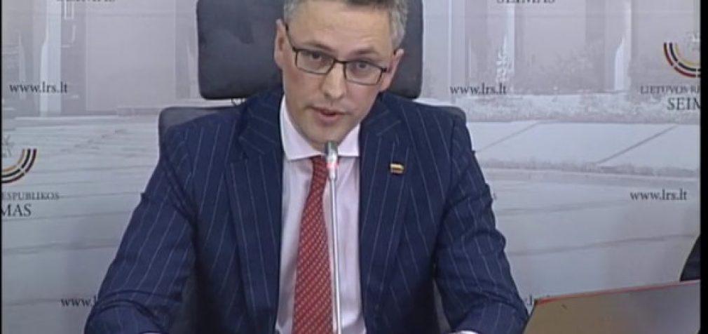 NSGK spaudos konferencija, pristatant tyrimo išvadas dėl Seimo nario M. Basčio veiklos prieš Lietuvos interesus