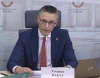 Buvęs valstietis V. Bakas į Seimo rudens sesijos darbotvarkę siūlo įtraukti apkaltą galimai nusikaltusiems teisėjams