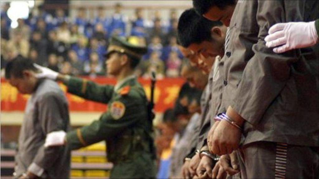 Bausmės už korupciją Kinijoje