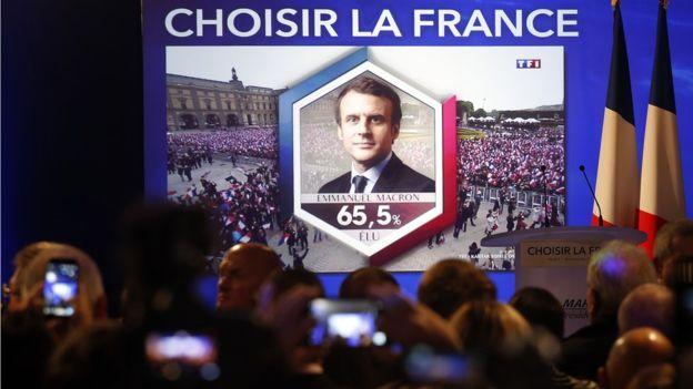 Emanuelis Makronas - Prancūzijos prezidentas