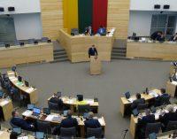 Rudens sesijos metu Seimas per 60 posėdžių priėmė 500 teisės aktų – daugiau kaip 8 per dieną