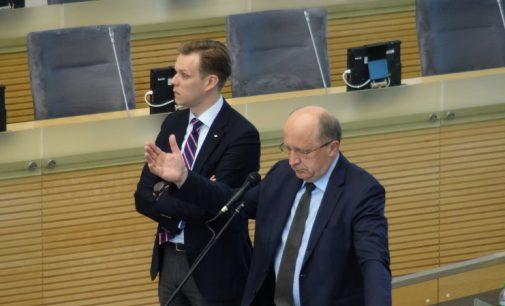 A. Kubilius prašo S. Skvernelio išskaidyti abejones, kad vyriausybė nekolaboruoja su Baltarusija dėl Astravo AE