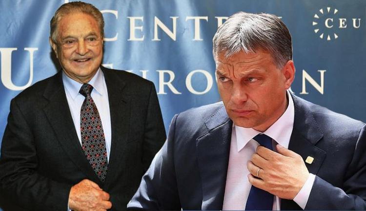 Viktoras Orbanas ir Džordžas Sorosas