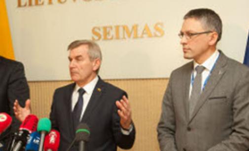 Seimo Pirmininkas teigia, jog nėra pagrindo abejoti NSGK pirmininko Vytauto Bako lojalumu Lietuvai