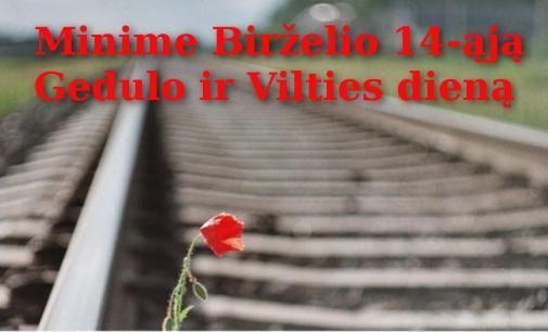 Lietuva mini birželio 14 – gedulo ir vilties dieną