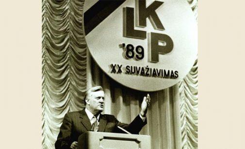 Seimas pritarė rezoliucijai, kuria Lietuvos komunistų partija pripažįstama nusikalstama organizacija