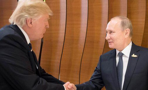 Trampas savo susitikimą su Putinu pavadino nuostabiu