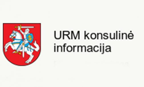 Išvykusių į užsienį Lietuvos piliečių – karo prievolininkų dėmesiui