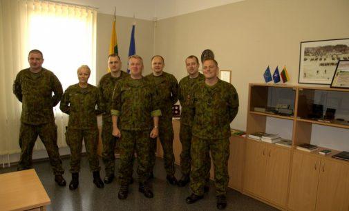 Lietuvos kariai išlydėti į NATO operaciją Afganistane