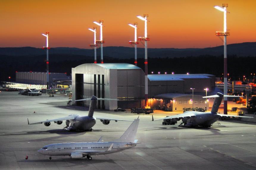 JAV aviacijos baze Vokietijoje