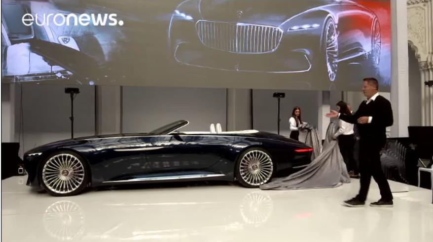 Mercedes Vision Maiybach 6