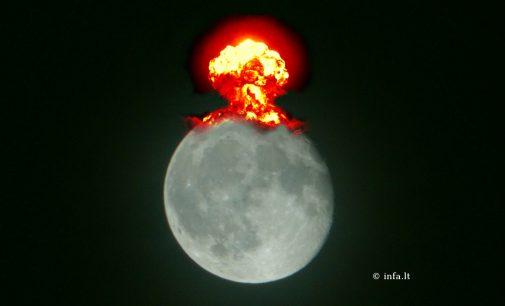 TSRS norėjo pakartoti Hirosimą Mėnulyje