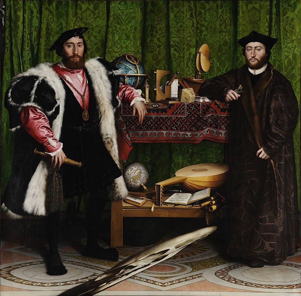 H. Holbeinas. Ambasadoriaus portretas