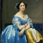 """Ž.D. Engras, Realistinis princesės portretas, """"kaip gyva"""""""