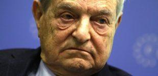 """Kinijos žiniasklaida George'ą Sorosą vadina """"pasauliniu ekonominiu teroristu"""""""