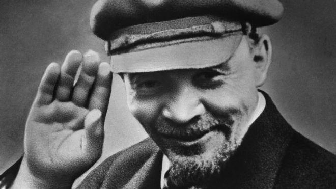 Vladimiras Leninas - Rusijos revoliucijos vadas