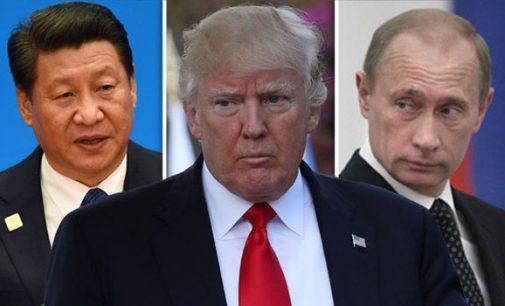 Kinija pakvietė Rusiją kartu ginti daugiapolę pasaulio tvarką nuo hegemonijos