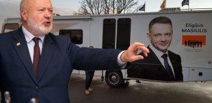 """""""Dėl keliamos krizės valstybėje kaltas tik R. Karbauskis"""" – tvirtina liberalai"""