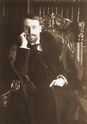 Daumantas kaip pirmasis Lietuvos atstovas Šveicarijoje
