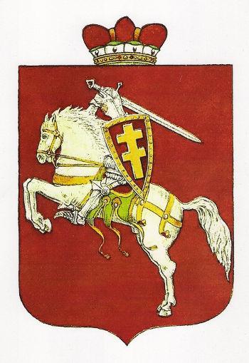 aut. V. Daumantas Carte de la Lituanie viršelio vytis, 1918m.