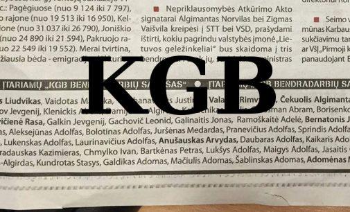 """Seimo narys A. Anušauskas kaltina """"Respublika"""" vyr redaktorių V. Tomkų politiniu reketu, už pastarojo paskelbtą """"KGB"""" sąrašą"""